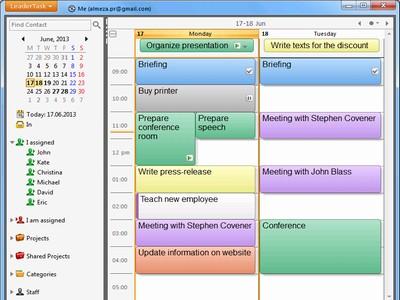 LeaderTask Company Management