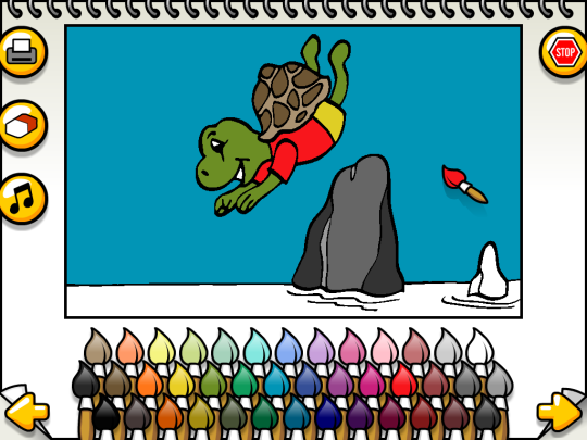 Leah's Animal Coloring Book