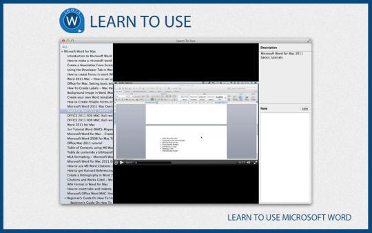 Learn To Use Microsoft Word