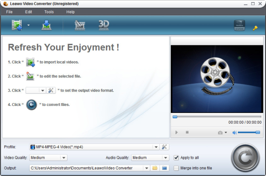 Leawo Free iPod Video Converter