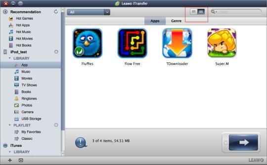 Leawo iTransfer for Mac