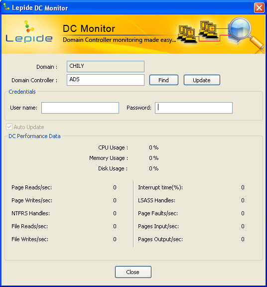 Lepide DC Monitor
