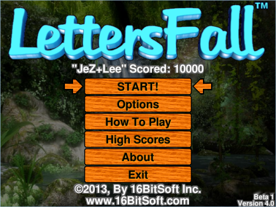 LettersFall