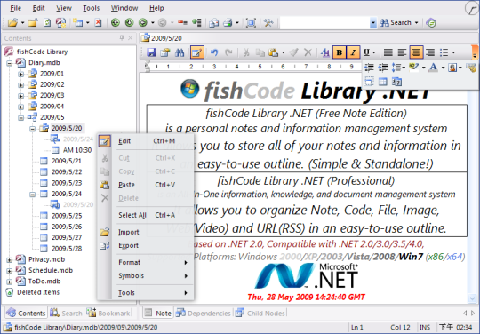 Library .NET Free