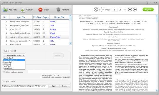 Lighten PDF Converter