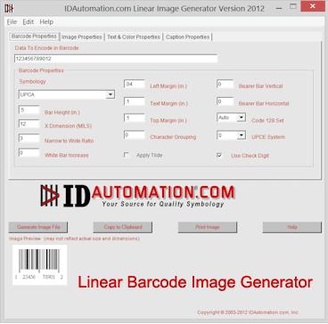 Linear Image Generator