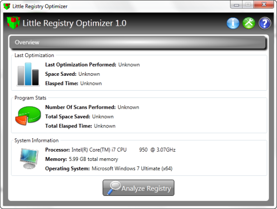 Little Registry Optimizer Portable Edition