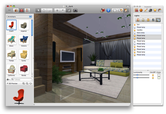Live Interior 3D Standard