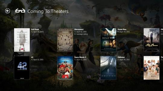 Live Mall Movies for Windows 8