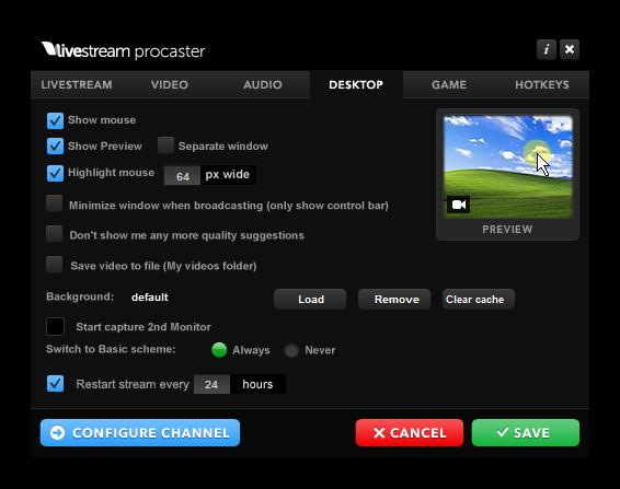 Livestream Procaster