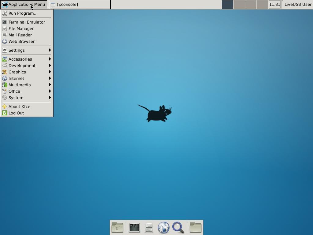 LiveUSB-Xfce