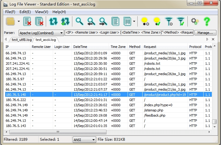 Log File Viewer - Standard Edition