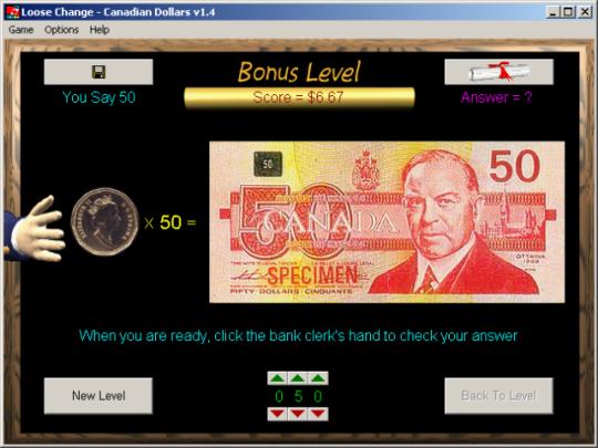 Loose Change - Canadian Dollars