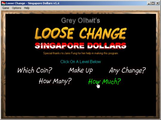 Loose Change - Singapore Dollars
