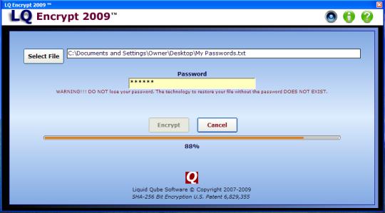 LQ Encrypt 2009