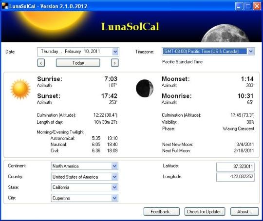 LunaSolCal
