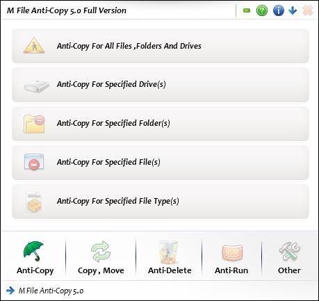 M File Anti-Copy