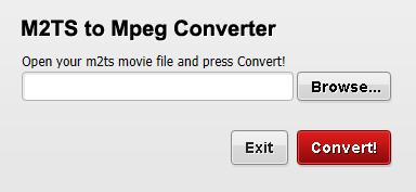 M2TS to Mpeg Converter