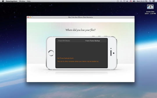 Mac Free Any iPhone Data Recovery