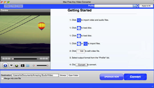 Mac Free Any Video Converter