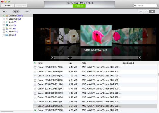 Mac Free Digital Camera Photo Recovery