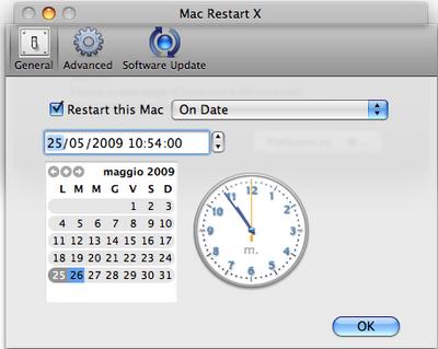 Mac Restart X
