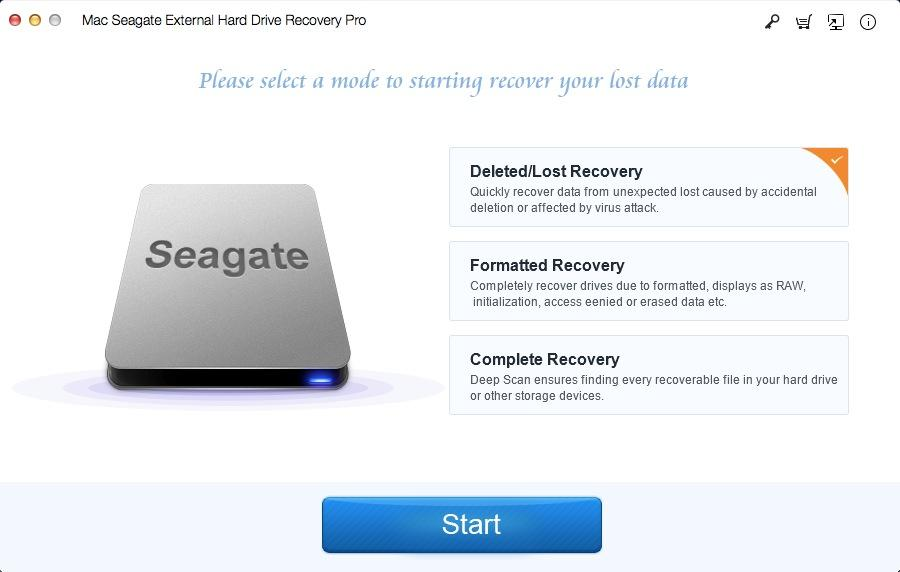 Mac Seagate External Hard Drive Recovery Pro