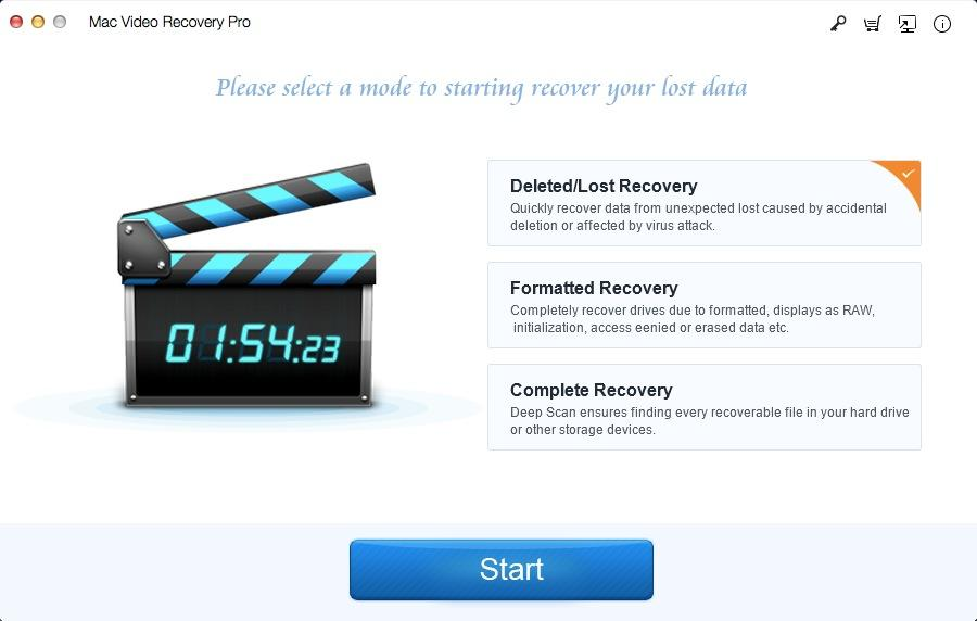 Mac Video Recovery Pro