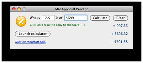 MacAppStuff Percent