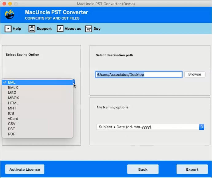 MacUncle PST Converter