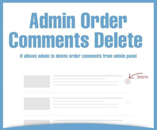 Magento Admin Order Comments Delete