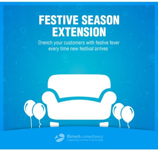 Magento Festive Season Extension