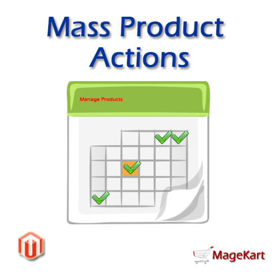 Magento Mass Product Actions Extension