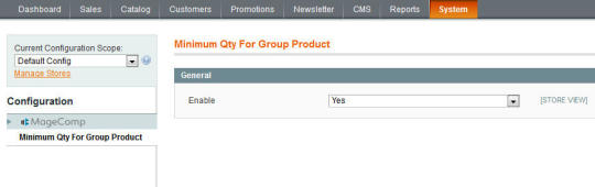 Magento Minimum Quantity for Grouped Products
