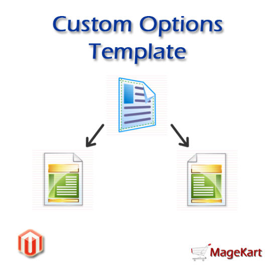 Magento Product Custom Options Template