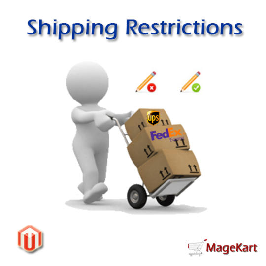 Magento Shipping Restrictions Extension