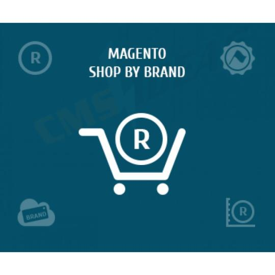 Magento shop by brand extension