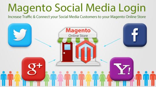 Magento Social Media Login