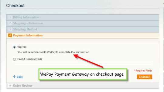 Magento WePay Connect