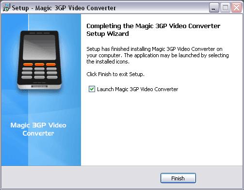 Magic 3GP Video Converter