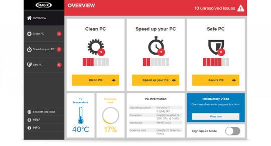 Magix PC Check & Tuning 2015