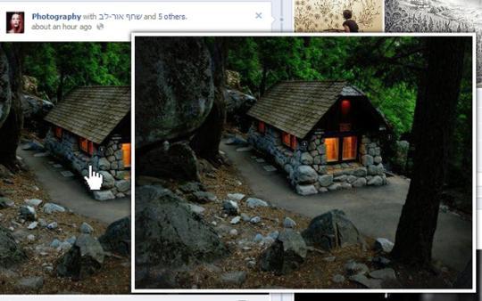 Magnifier for Facebook