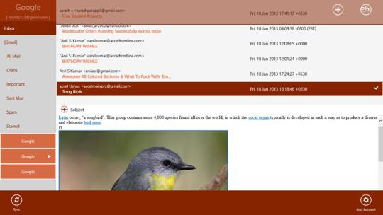 MailXprZ for Windows 8