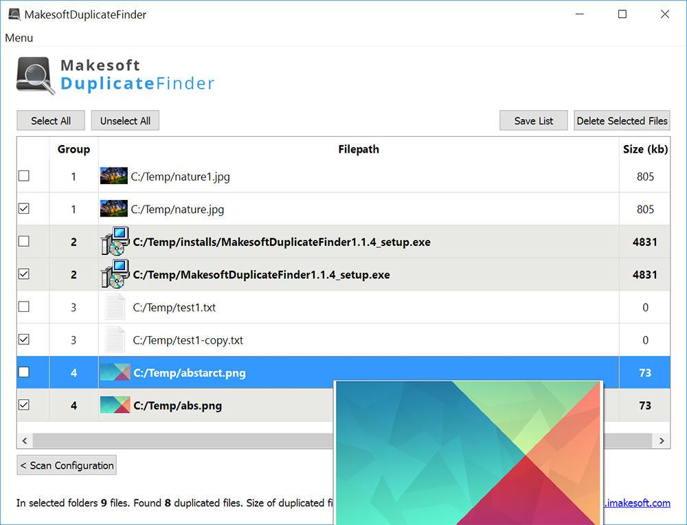 Makesoft DuplicateFinder