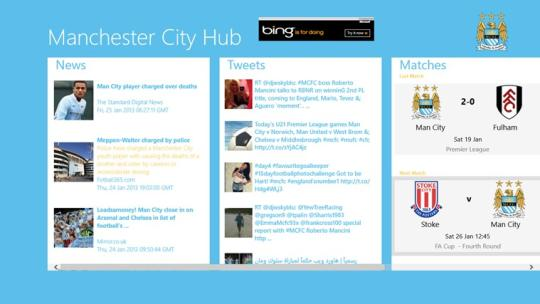 Manchester City Football Hub