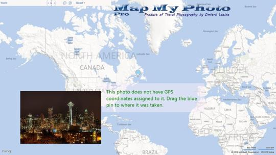 Map My Photo Pro for Windows 8