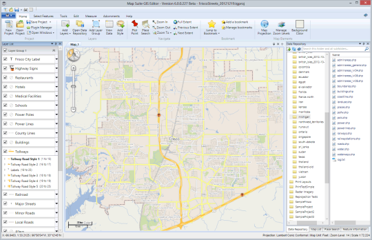 Map Suite GIS Editor