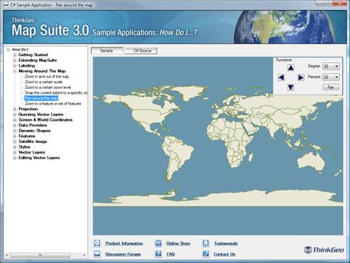 Map Suite Services Edition