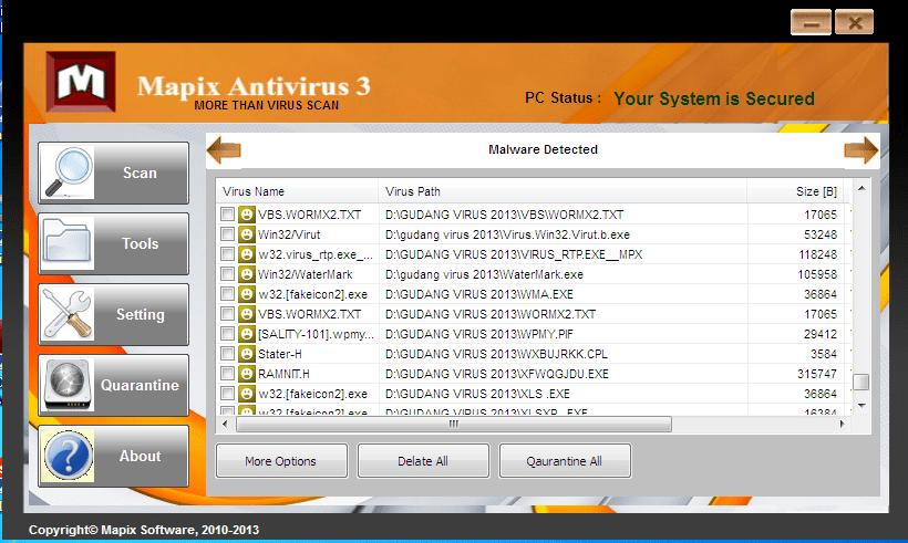 Mapix Antivirus
