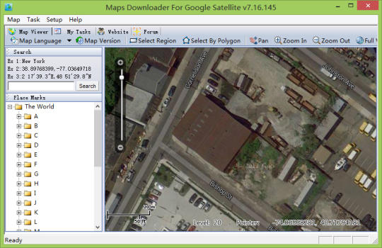 Maps Downloader For Google Satellite